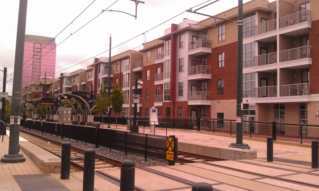 Bland Stop on Blue Line